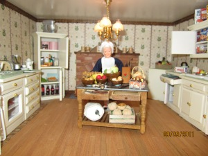 Mrs. White in Kitchen