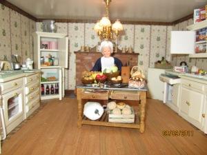 Mrs. White in Kitchen
