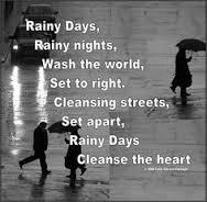 rainy poem